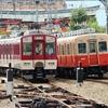 近鉄1252系 VE73+VE75と阪神8901形 8901F