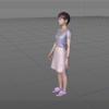 自分のモデルデータを使ってPerfumeダンスを踊らせてみた