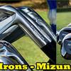 鍛造品アイアンは日本製が大評判です。今年も伝統的な技術を持つMIZUNO Golfは大人気です。