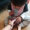 1歳3ヶ月、指先が進化!簡単トレーニング