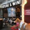 モダンミール「近江牛ハンバーグと赤身ステーキ」ランチ