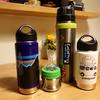 育児に役立つ登山道具。Klean KanteenとThermos山専ボトル。保温力の差を活用する。