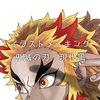 煉獄杏寿郎さんの髪が難しい【イラストメイキング】【鬼滅の刃】【現代風】