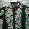 古着の半袖アロハシャツをご紹介。ハワイ産ではなく日本のブランドです