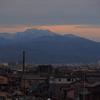 大野大橋から見える白山
