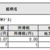 外貨建MMF 再投資のご案内 (兼)支払通知書が届きました(2018年11月)