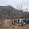 初キャンプしに青根キャンプ場へ行ってみた。冬キャンプ初日。(神奈川県相模原市緑区)