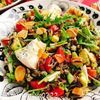 ワイルドライスのチョップドサラダ(動画レシピ)/Wild rice salad.