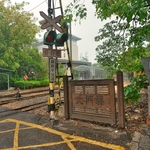 「阿里山森林鉄路 北門驛」およびその周辺~レトロな檜の木造駅舎と戦前にタイムスリツプした様な雰囲気。。。