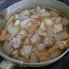 幸運な病のレシピ( 1343 )夜:東京に出張(3)帰宅:おでん、牛肉と厚揚げの炒め、汁