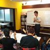 今年度第1回目のおれんじ手話教室。