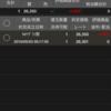 株価指数CFD  NYダウ  新たなポジション約定