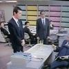 3-26/28-16 1990年4月2日放映 TBS 「左遷」 原作 江波戸哲夫「総合商社」より 高橋一郎 デレクター こまつ座の時代の時間(アングラの帝王から新劇へ)