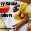 グレービーソース+プリンスソーセージ、プリンスコルブのレシピ Gravy, Prinskorv
