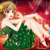 【イラスト013】クリスマスルージュ