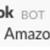 Amazon Dash Button と slackを連携させる