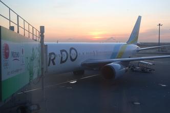 羽田空港ホテル「ファーストキャビン」とAIR DO57便(ANA 4757便)搭乗記。(羽田6:55→函館8:15)