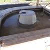 古奈湯元公園の『よりともの足湯』を覗く(静岡県伊豆の国市)