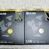 AIM UA3 USBケーブルの導入