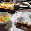 【食事】 クリスマスに低温調理でステーキ