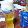 サントリーのビール「プレミアムモルツ<香るエール>」が美味しいのである!そして、4コマ「じょうだん」「竜宮城」!