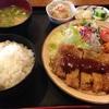 宮崎県は都城市の「くつろぎの里まきば」で食べるトンカツ定食が美味しい