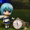 腕時計の広告に美少女キャラクターを起用してくれ!