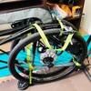 長期出張61日目。再び新幹線で輪行するので、ロードバイクを畳みました。