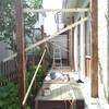 デッキ 屋根 DIY 5