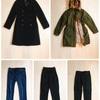 【ミニマリストの私服制服化】1月のワードローブ。ボトムス3着・アウター2着を公開します