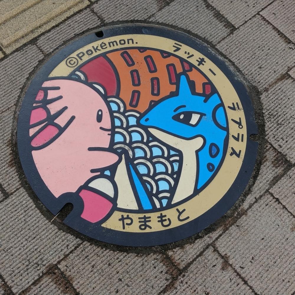 「ラプラスマンホール蓋「ポケふた」-コンプリート-」旅