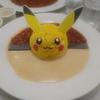 ピカブイカフェで美味しい物を食べました