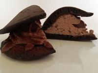 セブンの新商品の人気の見分け方。スイーツ編。セブンの「もっちりチョコパンケーキどら」が美味しい。