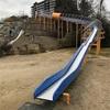 【茨木市にあるおすすめのロングすべり台!おしりに敷くものが必須!!】広いグラウンドも印象的な彩都西公園で遊ぼう〜公園感想レビュー〜