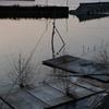 夕焼けの諏訪湖、いつもの諏訪湖