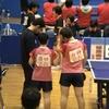 白熱の大会二日目・リーグ3戦目、三番ダブルス! 2019第46回全国高等学校選抜卓球大会