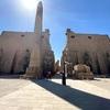 エジプト・ルクソール神殿とHappy Land Hotel(安宿)