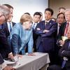 G7サミットの写真は将来に残りそうなほど、今を表している