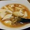 我が家の定番メニュー「麻婆もどき」 豆腐は名付けて「平行六面体切り」