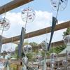 水無瀬神宮の風鈴と大山崎山荘の庭園