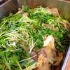 豚肉とエリンギのおろし煮