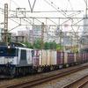 10月5日撮影 東海道線 平塚~大磯間 貨物列車 3075ㇾ 5095ㇾ 2079ㇾ