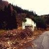 小屋を建てる地