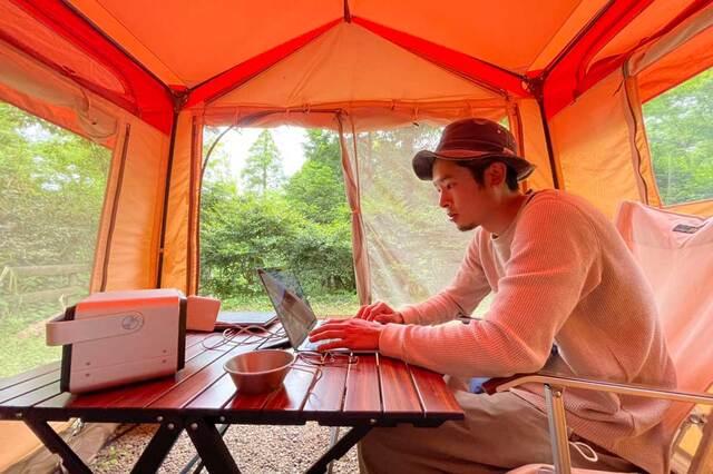 無理にバランスを取ろうとせず、割り切れる時間を作る。大好きなキャンプを仕事にしたさくぽんさんの「ワークライフバランス」