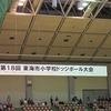 東海市小学校ドッジボール大会① 開会式