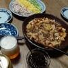 麻婆豆腐と春雨サラダ