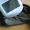 洗濯物の放射線量