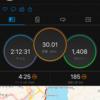 2020/7/5 約3ヶ月ぶりの30km走