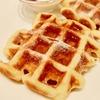 マウカメドウズで朝食!定番のワッフルはやはりうまかった!