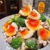 【レシピ】鶏ハムとブロッコリーの味玉サラダ